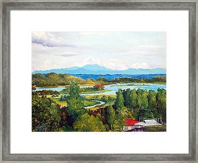 My Homeland Framed Print