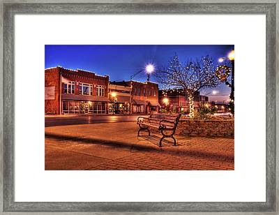 My Hometown Framed Print by Tamyra Ayles