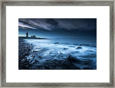 Point Judith Lighthouse - My Hope Framed Print