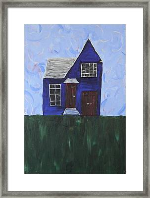 My House Framed Print by Tracy Fetter