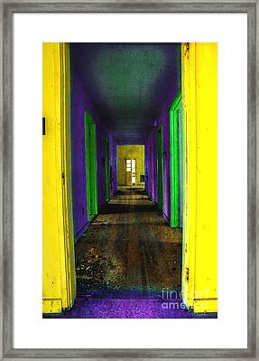 My Illusion Lies Just Beyond Framed Print by Michael Eingle