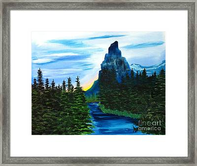 My Imagination Only Framed Print by Rod Jellison