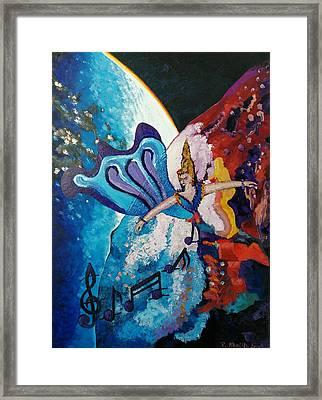 My Inspirational Goddess Framed Print