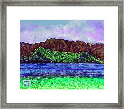 My Island Design  Framed Print