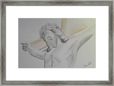 My Jesus Framed Print by Donielle Boal