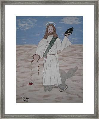 My Jesus Framed Print by Gregory Davis