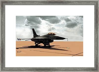 My Jet Framed Print