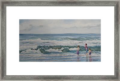 My Kind Of Beach Boys Framed Print by Jenny Armitage