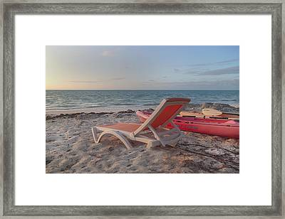 My Kind Of Day Framed Print