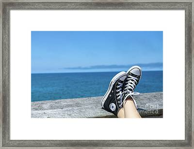 My Kind Of Day Framed Print by Randy Steele