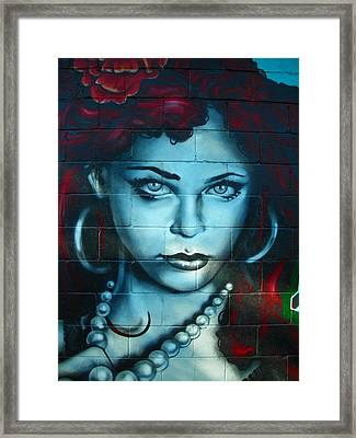 My Lady ... Framed Print