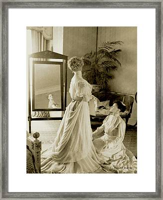 My Lady Daisy Framed Print
