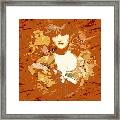 My Lady Of The Wood Framed Print