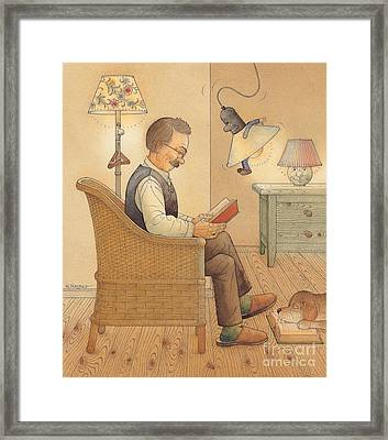My Lamp Framed Print by Kestutis Kasparavicius