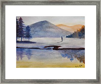 My Land Framed Print by Trilby Cole