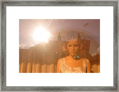 My Last Prayer Framed Print by Jez C Self