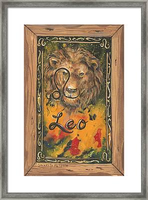 My Leo  Framed Print
