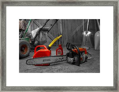 My Life In A Snapshot Framed Print by Chris Witte