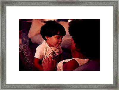 My Life Framed Print by Laurence Oliver