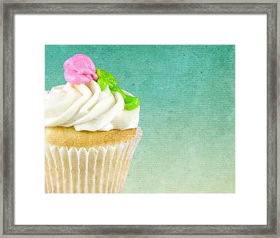 My Little Cupcake Framed Print