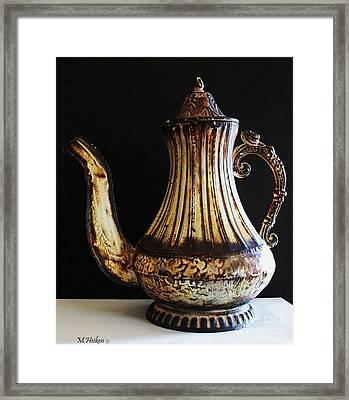 My Little Teapot Framed Print by Marsha Heiken
