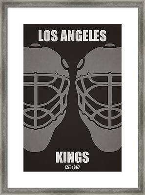 My Los Angeles Kings Framed Print by Joe Hamilton