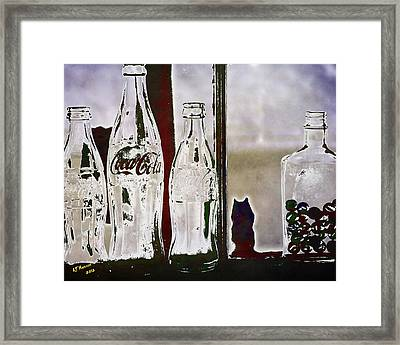My Lost Marbles Framed Print