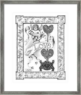 My Love Framed Print by Adam Zebediah Joseph