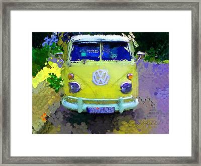 My Magic Bus Framed Print