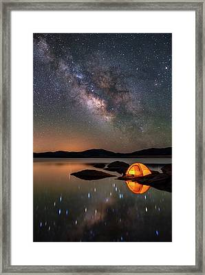 My Million Star Hotel Framed Print