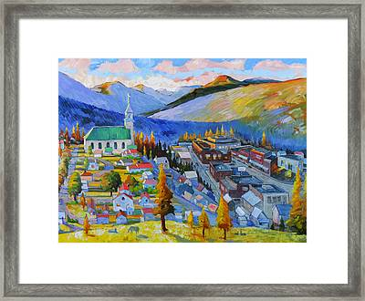 My Mountain Home Framed Print by Gregg Caudell