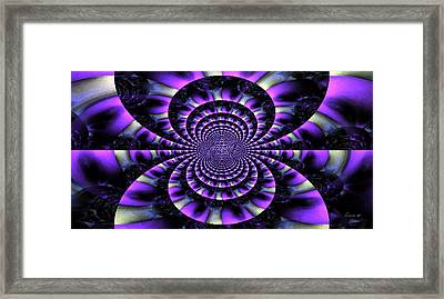 My Muse And I Live Here Framed Print