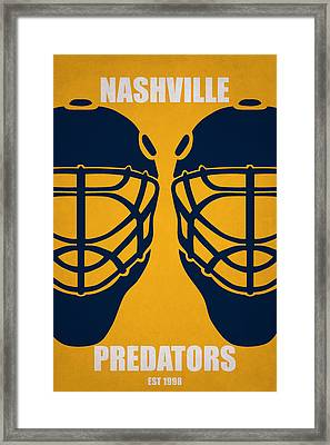 My Nashville Predators Framed Print by Joe Hamilton