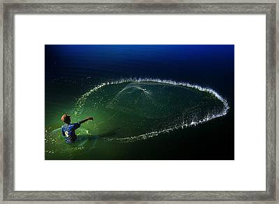 My Net Framed Print by Andre Arment