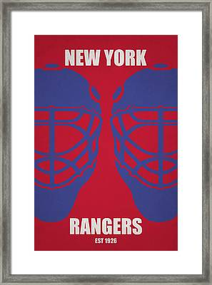 My New York Rangers Framed Print by Joe Hamilton