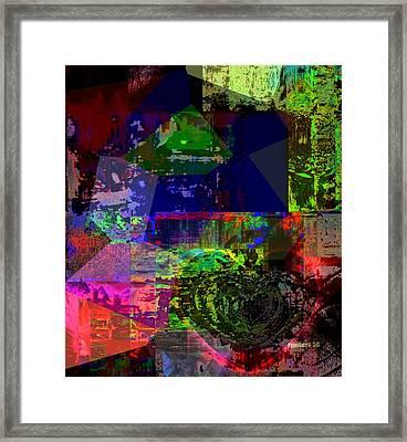 My Nonverbal World Framed Print