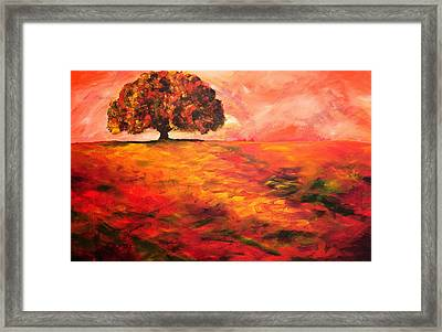 My Oak Tree Framed Print