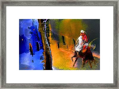 My Oasis Framed Print by Miki De Goodaboom