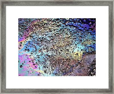 My Obsession With Asphalt I Framed Print by Anna Villarreal Garbis