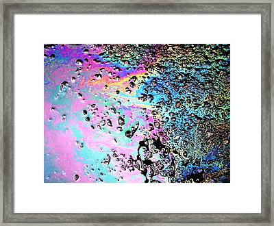 My Obsession With Asphalt II Framed Print by Anna Villarreal Garbis