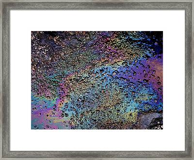 My Obsession With Asphalt IIi Framed Print by Anna Villarreal Garbis