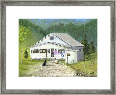 My Old Kentucky Home Framed Print by Linda Preece
