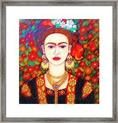 My Other Frida Kahlo Framed Print