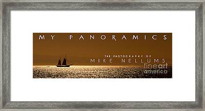 My Panoramics Coffee Table Book Cover Framed Print