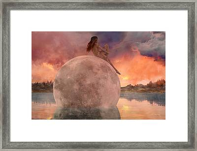 My Peaceful Place Framed Print by Betsy Knapp