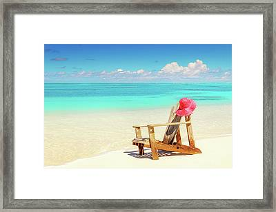 My Perfect Holiday Framed Print by Elena Seychelles