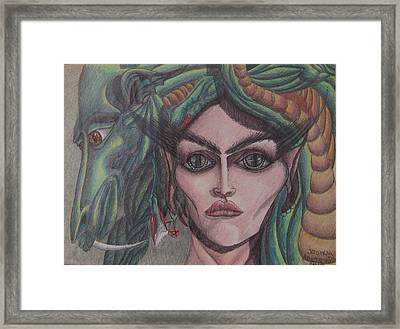 My Pet Framed Print by Joshua Armstrong