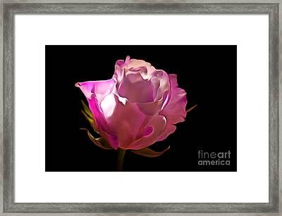 My Pink Valentine Framed Print by Krissy Katsimbras