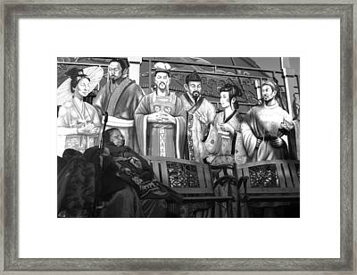 My Private Corner With Friends Framed Print by Jez C Self