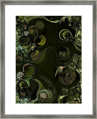 My Pure Meditation Framed Print